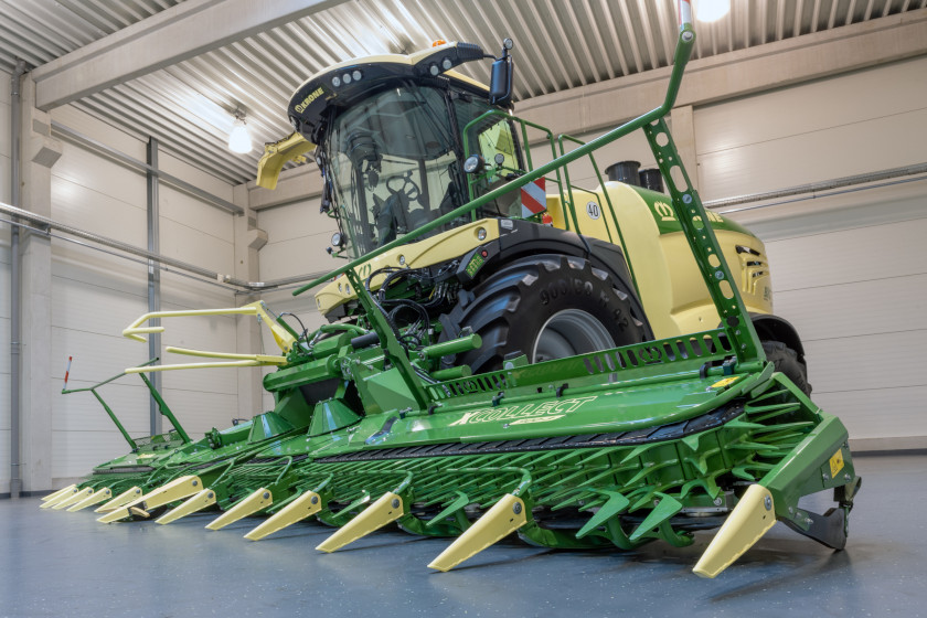 Krone presents BIG X 1180: the most powerful harvester in the world